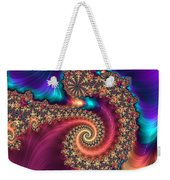 Infinite Rainbow Weekender Tote Bag