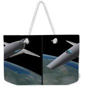 Infinity And Beyond - Gently Cross Your Eyes And Focus On The Middle Image Weekender Tote Bag