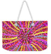 Infinity Star Flower An Abstract Fineart Expression By Navinjoshi At Fineartamerica.  Colorful Fun Weekender Tote Bag