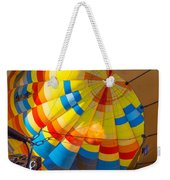 Inflating The Balloon Weekender Tote Bag