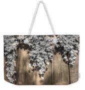 Infrared Botanical Sepia  Weekender Tote Bag