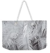 Infrared Palm Abstract Weekender Tote Bag