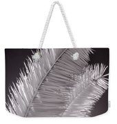 Infrared Palm Frond Weekender Tote Bag