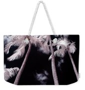 Infrared Palm Trees Weekender Tote Bag by Adam Romanowicz