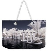 Infrared Pool Weekender Tote Bag