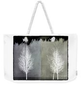 Infrared Trees With Texture Weekender Tote Bag by Patricia Strand