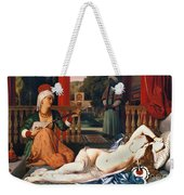 Ingres: Odalisque Weekender Tote Bag