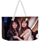 Ingrid Pitt And Madeline Smith Weekender Tote Bag