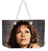 Ingrid Pitt, Vintage Actress Weekender Tote Bag
