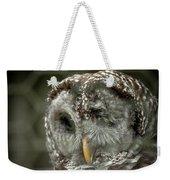 Injured Owl Weekender Tote Bag