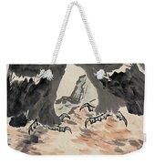 Ink Painting Eagle Weekender Tote Bag