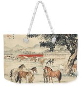 Ink Painting Horse Weekender Tote Bag