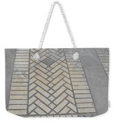 Inlayed Brick Walk Weekender Tote Bag