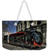 Inner City Tram Weekender Tote Bag
