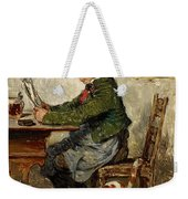 Innkeeper With A Cat Weekender Tote Bag