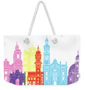 Innsbruck Skyline Pop Weekender Tote Bag