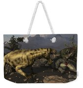 Inostrancevia Moving In On A Kill Made Weekender Tote Bag