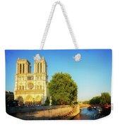 Notre Dame In Sunset Light Weekender Tote Bag