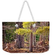 Inquisitive Whitetail Deer Weekender Tote Bag