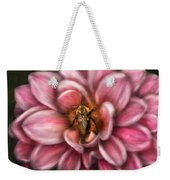 Insect - Bee - Center Of The Universe  Weekender Tote Bag