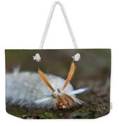 Insect Larvae With Hairdo Weekender Tote Bag