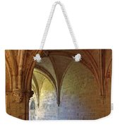 Inside A Monastery Dordogne France  Weekender Tote Bag