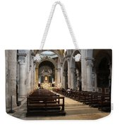 Inside Beautiful Church In Rome Weekender Tote Bag