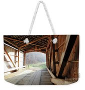 Inside Big Rocky Fork Bridge Weekender Tote Bag