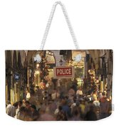 Inside Istanbuls Grand Bazaar Weekender Tote Bag