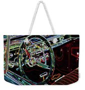 Inside Of A Classic Car Weekender Tote Bag
