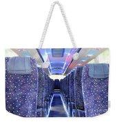 Inside Of New Bus  Weekender Tote Bag