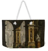 Inside Of The Palace With Soldiers Weekender Tote Bag