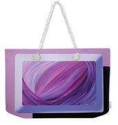 Inside Purple Weekender Tote Bag