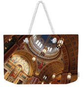 Inside Saint Matthew's Cathedral -- At An Angle Weekender Tote Bag