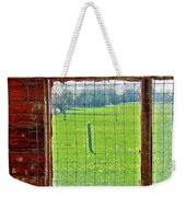 Inside The Barn Weekender Tote Bag