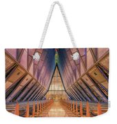 Inside The Cadet Chapel Weekender Tote Bag