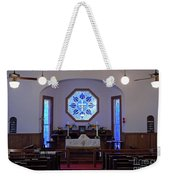 Inside The Church Of The Mediator Weekender Tote Bag