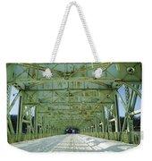 Inside The Falls Bridge - Winter Weekender Tote Bag