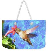 Inside The Flower - Impressionism Finish Weekender Tote Bag