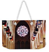 Inside The National Cathedral Weekender Tote Bag