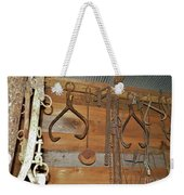 Inside The Tool Shed Weekender Tote Bag