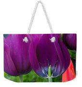 Inside Tulip Weekender Tote Bag