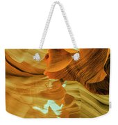 Insignificance Of Man Weekender Tote Bag