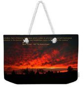 Inspiration Weekender Tote Bag