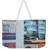 Installation H Weekender Tote Bag