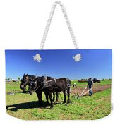 Instructing The Horses Two  Weekender Tote Bag