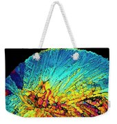 Insulin Crystals Light Micrograph Weekender Tote Bag