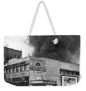 Insurance Company Fire Weekender Tote Bag