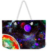 Intense Galaxy Weekender Tote Bag