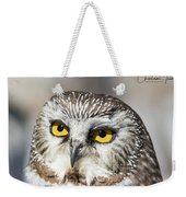 Intense Look Weekender Tote Bag